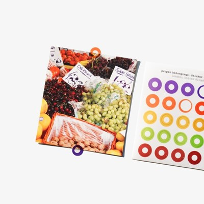Colorful Doughnut Sticker Set (7ea)