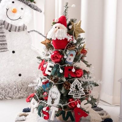 양모글자산타트리 75cmP 크리스마스 장식 소품 TRHMES