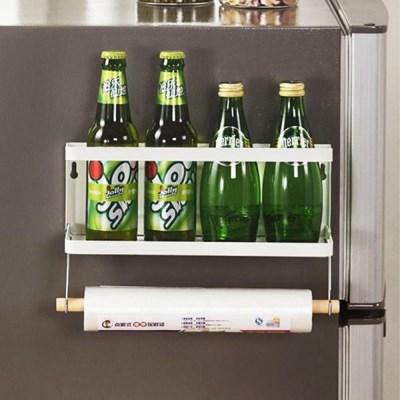 FT 냉장고 자석 선반1단 화이트 수납 정리 사이드