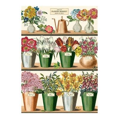 카발리니 포스터-Flower Market