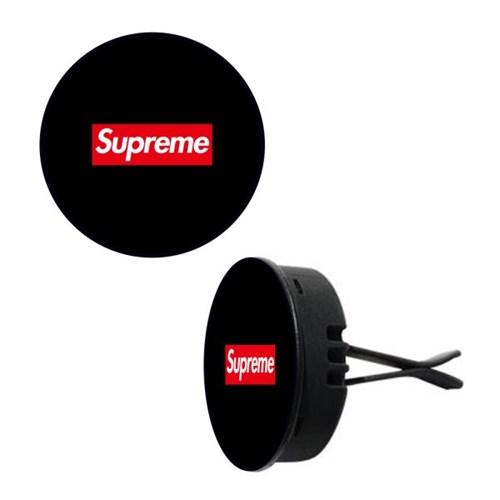 토디토 자동차디퓨저-슈프림 블랙&박스 로고(원형)