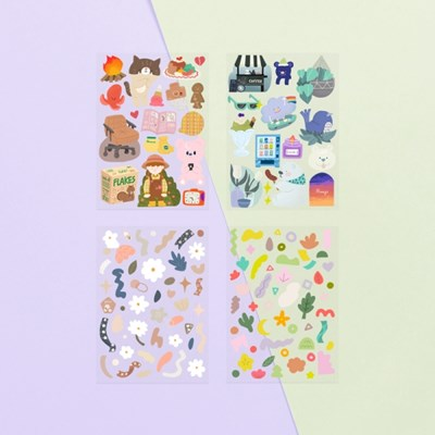 O-ssum sticker for deco ver.3  4종