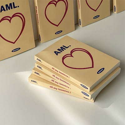 AML. (all my love / yellow)