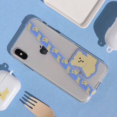 LAZYTHING DOING NOTHING PUPPY PHONE STRAP_(308729)