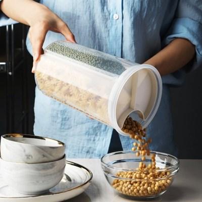 온나 쌀통 잡곡통 씨리얼통 분리보관 밀폐용기