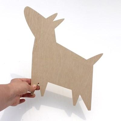 우드아트꾸미기 - 강아지 (W589) 컬러링 색칠놀이