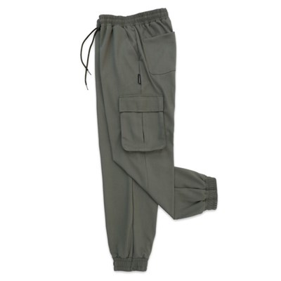 (UNISEX) M Soft Royal Cargo-Jogger Pants(KHAKI)
