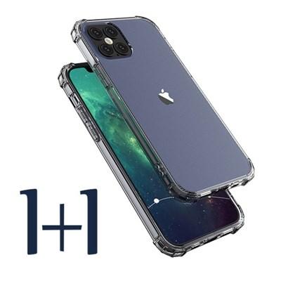 1+1 몬드 아이폰 진 투명 범퍼 젤리 케이스