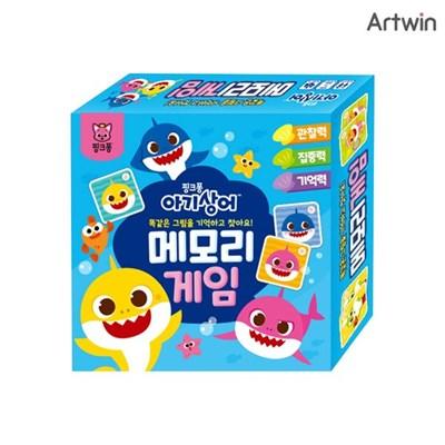 [학산문화사] 핑크퐁 아기상어 메모리게임 / 5세이상, 2