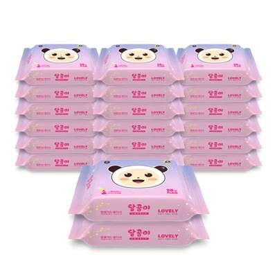 달곰이 러블리 휴대 플레인 리필(20매) 20팩