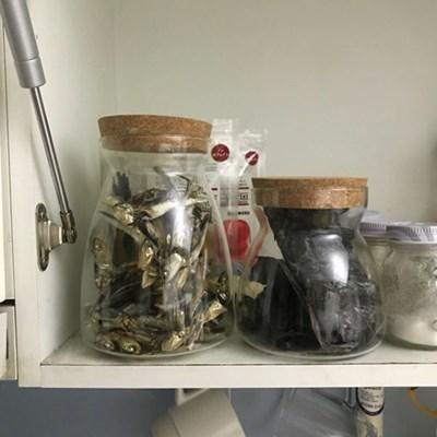 FT 코르클래스 저장형 중형 다용도 유리병 주방 용품