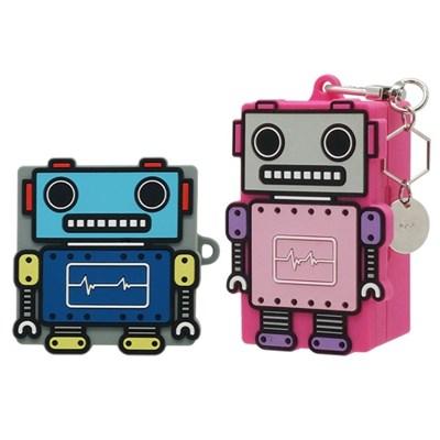 ASC 장난감 로봇 갤럭시 버즈 플러스 라이브 키링 실리콘 케이스
