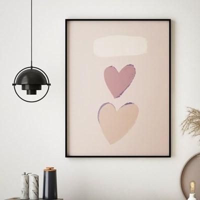인테리어 액자 하트 컴포지션 Heart Composition_(2544617)