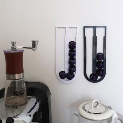 부착식 네스프레소 커피캡슐 거치대