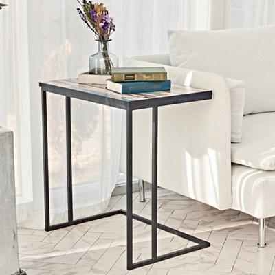 영진앵글 사각 간이 ㄷ자테이블 침대사이드테이블 국내산 서브탁자