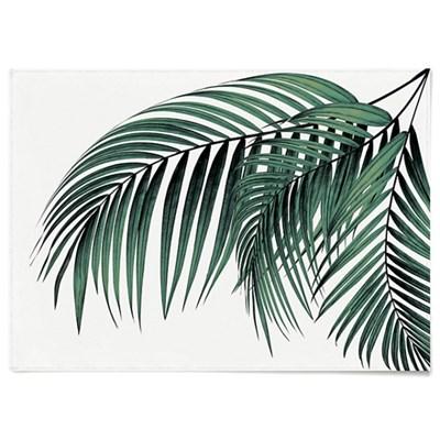 패브릭 포스터 F217 식물 야자수 천 액자 파라다이스