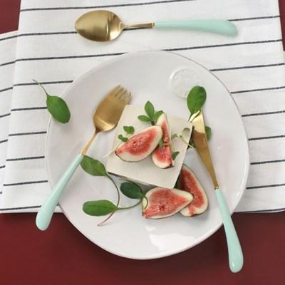 몽블랑 스완 골드 커트러리 11color - 아동용 양식기 3종세트