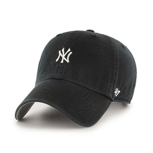 47브랜드 MLB모자 뉴욕 양키즈 블랙 화이트미니로고 키즈