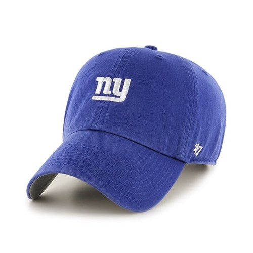 47브랜드 모자 양키즈 로얄 화이트미니소문자로고