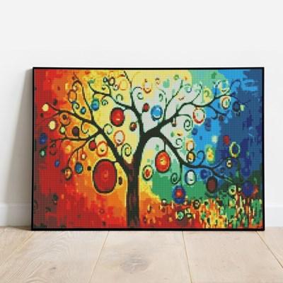 보석십자수 돈이 열리는 나무 DIY 픽스아트 큐빅 비즈