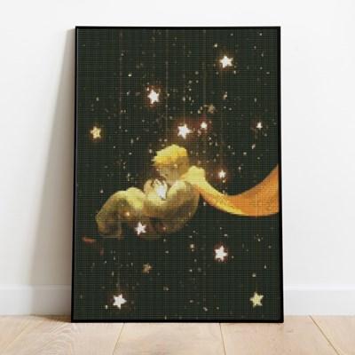 보석십자수 어린왕자의 꿈 DIY 픽스아트 큐빅 비즈 취미