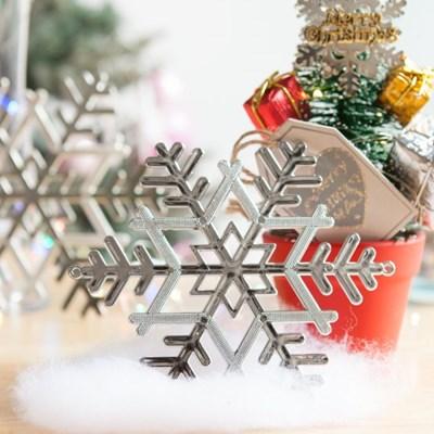 설정 실버 10~20cm 크리스마스 장식 소품 TROMCG