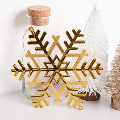 설정 골드 10~20cm 크리스마스 장식 소품 TROMCG