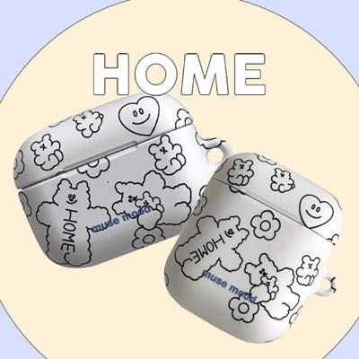 [뮤즈무드] HOME airpods case (하드에어팟케이스)