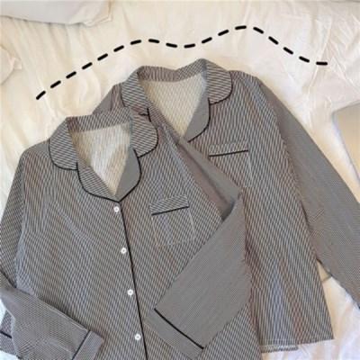 데일리 스트라이프 커플 파자마 잠옷