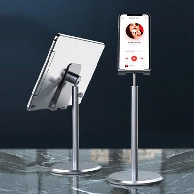버티컬 스탠드 스마트폰 거치대 접이식 다각도높이조절 휴대폰
