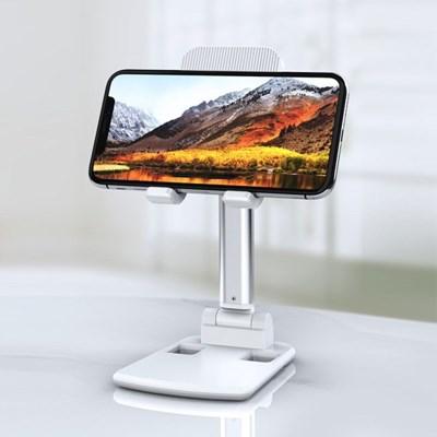 링클폴딩 스탠드 스마트폰 거치대 접이식 다각도높이조절 휴대폰