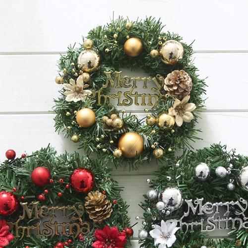 글리터리스(소) 골드 크리스마스 트리 소품 데코장식_(2791892)