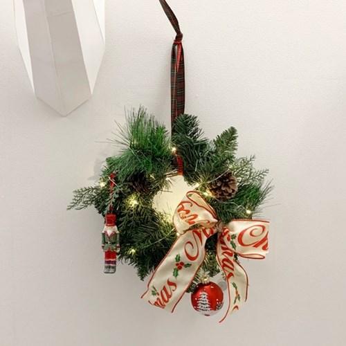 메리 크리스마스 트리리스 30cm