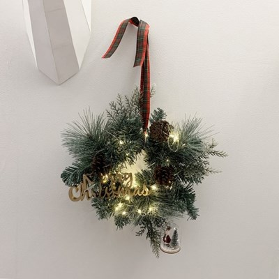 미스티 크리스마스 트리리스 30cm