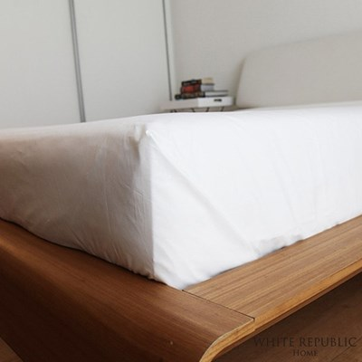 [화이트리퍼블릭]WR Signature Collection Fitted sheet Q