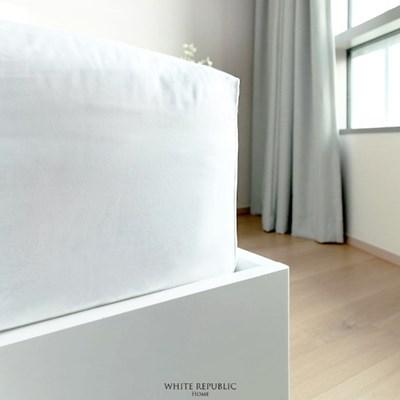 [화이트리퍼블릭]Four Seasons Collection Fitted Sheet K White W
