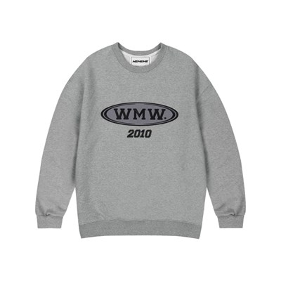 WMW 2010 SWEATSHIRT_GRAY