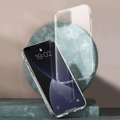 끼움 지문방지 아이폰12mini/12/12pro/12pro_max 미니 투명 케이스