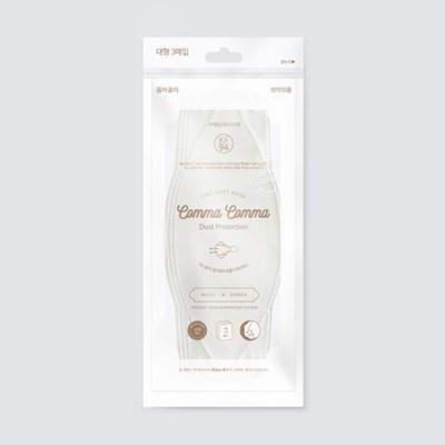 꼼마꼼마 황사마스크 KF94 대형 흰색 3매X5set