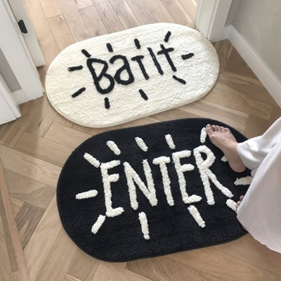 Bath & Enter 감성 발매트 2종