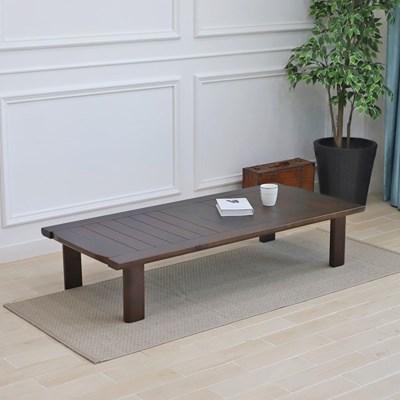 늘솔길 소나무 원목 다용도 좌식 테이블 1500