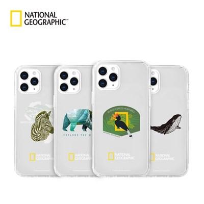 내셔널지오그래픽 아이폰12 외 인투더와일드 크리스탈클리어 케이스