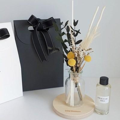 골든볼 프리저브드 꽃다발 디퓨저+선물 박스 세트