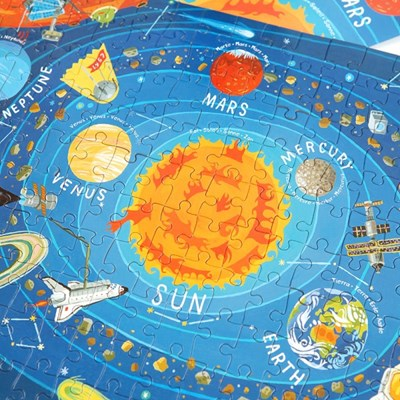 [크로커다일크릭] 태양계 200피스 포스터 퍼즐 / 5세이