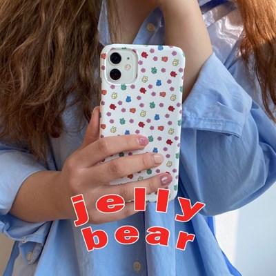 [뮤즈무드] jelly bear 아이폰케이스