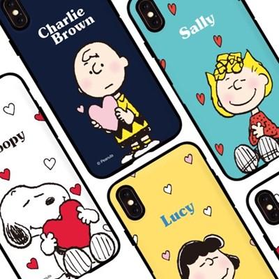 오요앤올리 스누피시즌2 미러 카드범퍼 휴대폰케이스