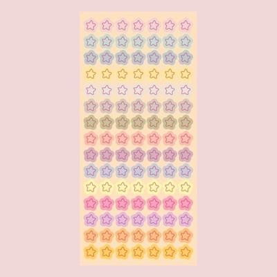 반짝반짝작은별 홀로그램 씰스티커