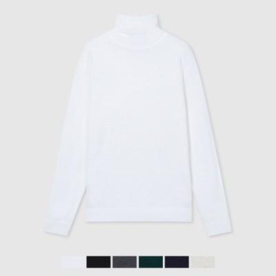 메리노울 터틀넥 스웨터 SPKAA4TM01