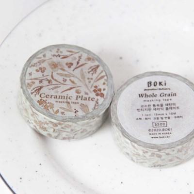 Ceramic Plate Masking Tape [Whole Grain]