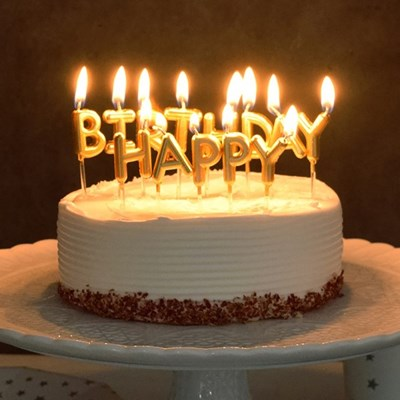 생일캔들 HAPPY BIRTHDAY [2색]